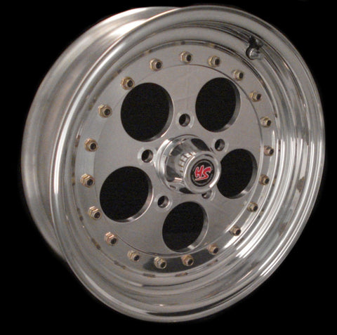"15"" Holepro2 3-PC Wheel"