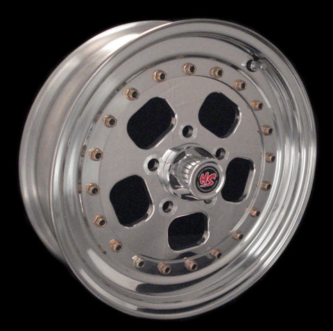 "15"" Hot Rodder 3-PC Wheel"