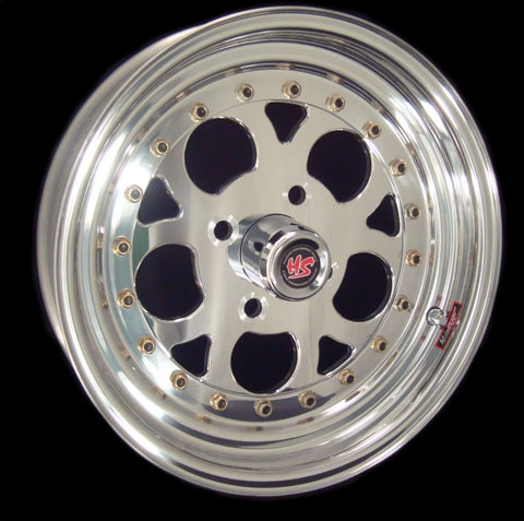 "15"" Revolver 4 Lug 3-PC Wheel"
