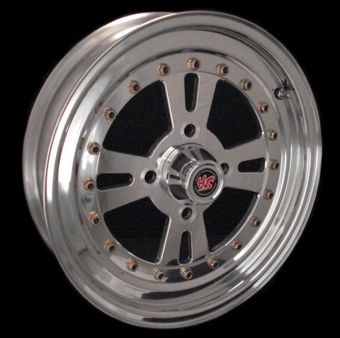 "15"" Sunstar 4 Lug 3-PC Wheel"