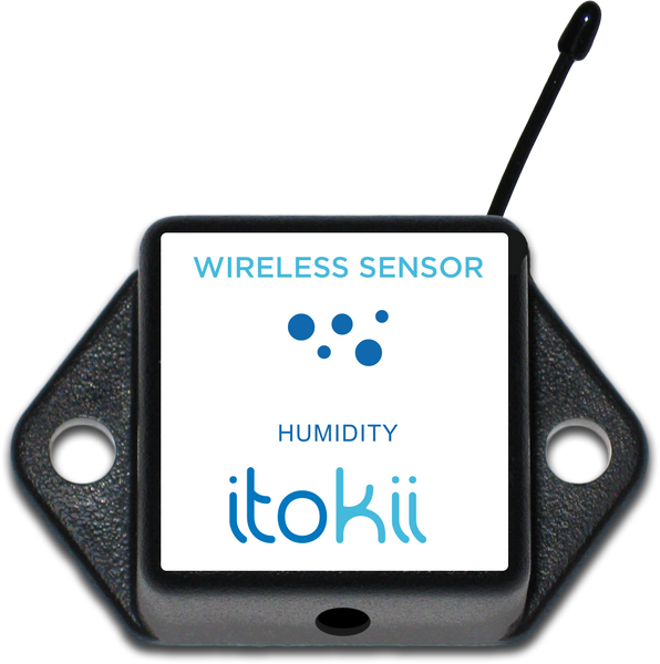 Itokii 900Mhz WIRELESS HUMIDITY SENSOR - COMMERCIAL COIN CELL POWERED