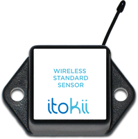 Itokii WIRELESS ACCELEROMETER - IMPACT DETECT - COMMERCIAL COIN CELL POWERED