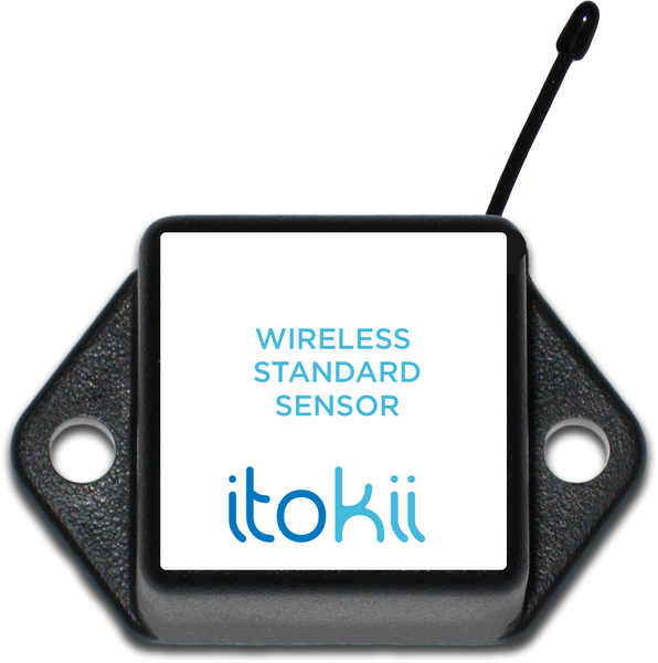 Itokii 900Mhz WIRELESS LIGHT DETECTION SENSOR - COMMERCIAL COIN CELL POWERED