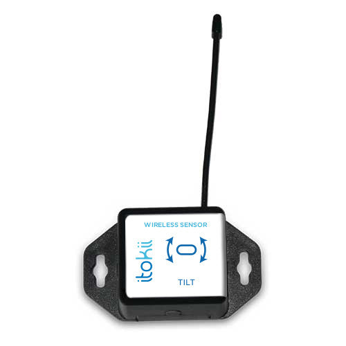 Itokii 900Mhz WIRELESS ACCELEROMETER - TILT SENSOR - COMMERCIAL COIN CELL POWERED