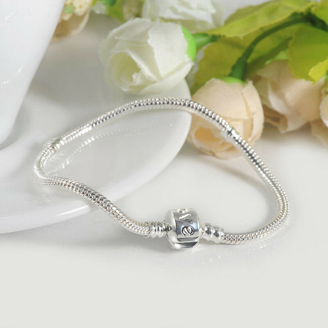 Starter Love barrel Clasp Moments Charm Bracelet