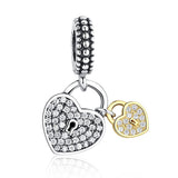 PANDORA FIT LOVE LOCK CHARM
