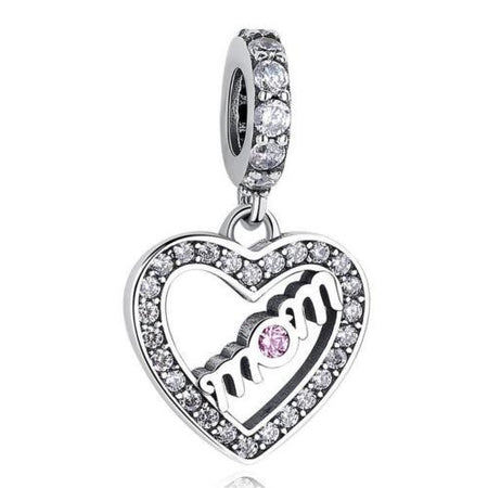 Silver Sterling BEST FRIENDS BFF Pendant Charm Set