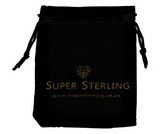 super sterling signature gift pouch charm ring earrings storage bag