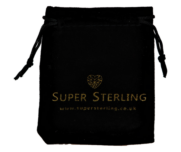 super sterling signature gift charm ring pouch