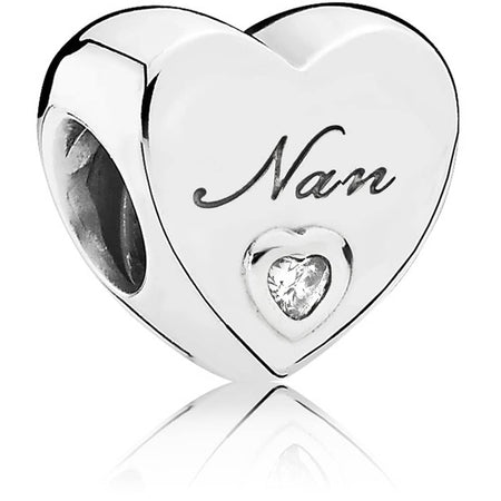 925 Silver 18 Years  Of Love Number Pendant Charm