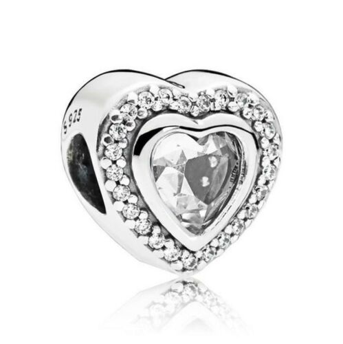 Love Heart Valentines Girlfriend Charm