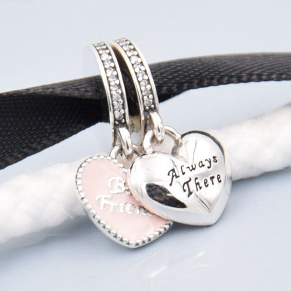 best friends love pendant charm fits pandora bracelets ideal gift