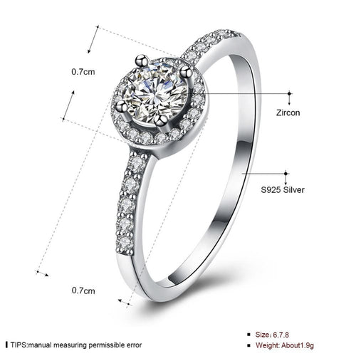 Luxury Sparkling vintage Ring pandora style ring