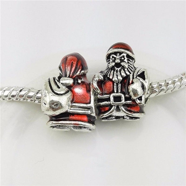pandora fit christmas father santa claus charm