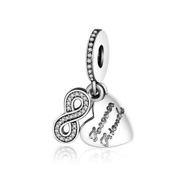 foever friends love dangle charm for pandora bracelets