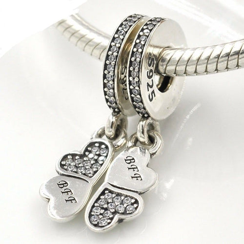 fits pandora bff twin best friends charm set