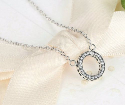 Dazzling Forever Round Necklace