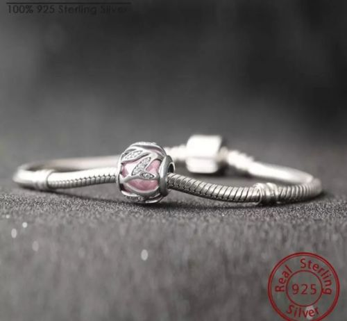 Pink Intertwining Natures Radiance stone Charm