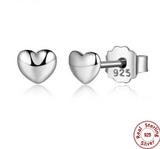 pandora style petite love hearts earrings