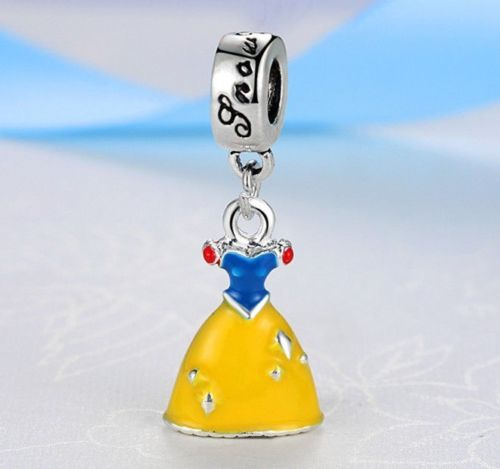 Disney Princess Snow White Dress Pendant  pandora