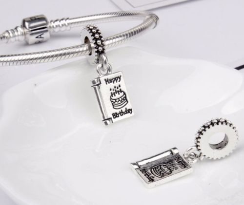 Happy Birthday Celebration Pendant Charm