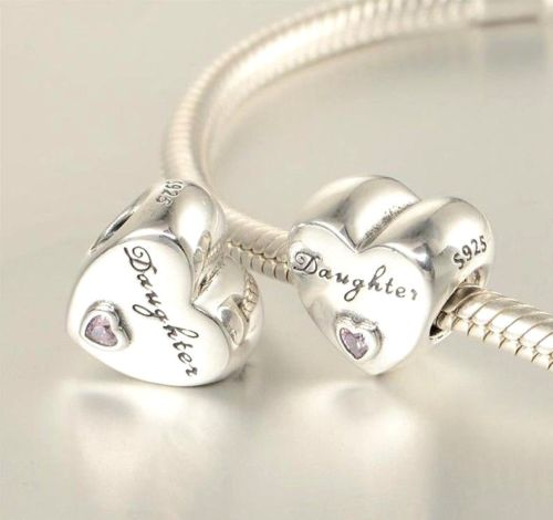 018fc96f8 Mother Daughter Love Heart Stone Charm – supersterling