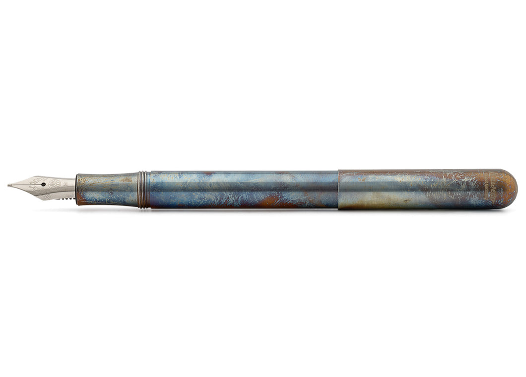 Liliput Fireblue Steel Fountain Pen