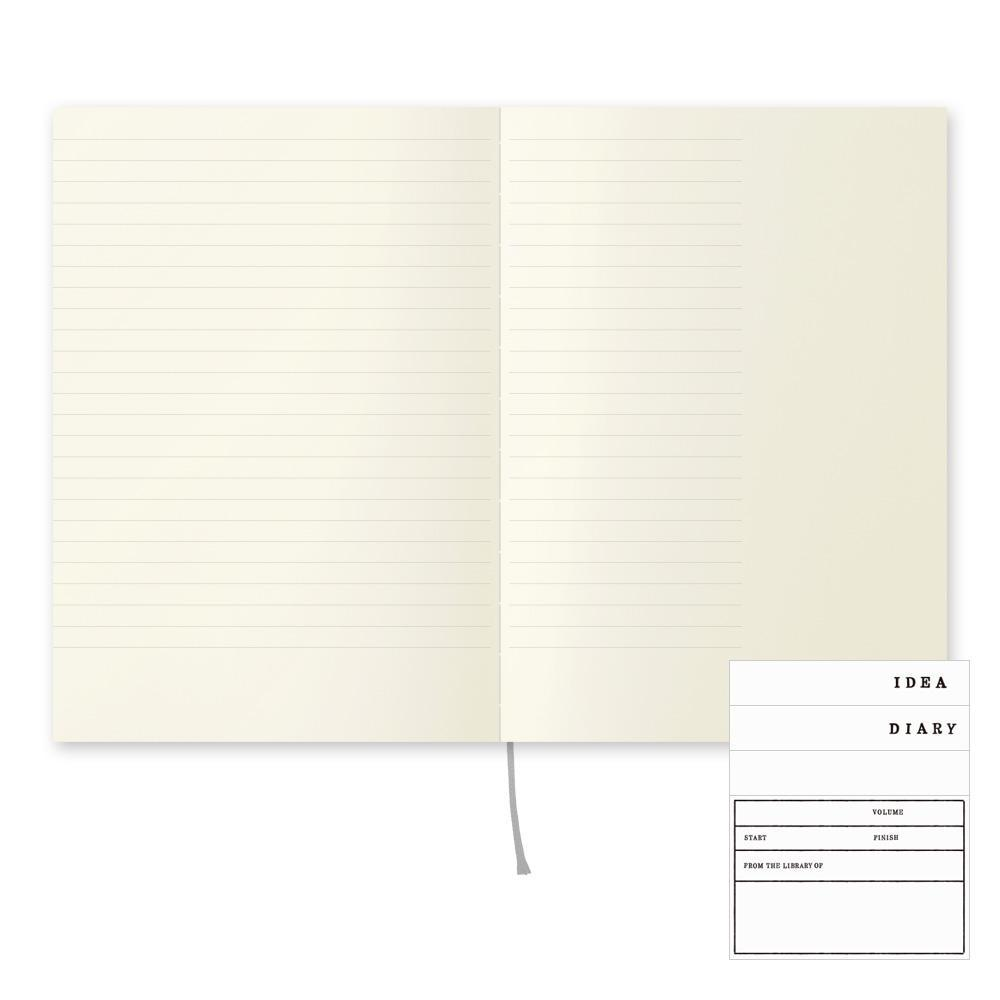 Line and Margin A5 Notebook