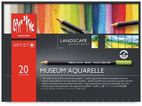 Museum Aquarelle - Set of 20 Landscape