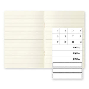 A6 Notebook Light Pack of 3