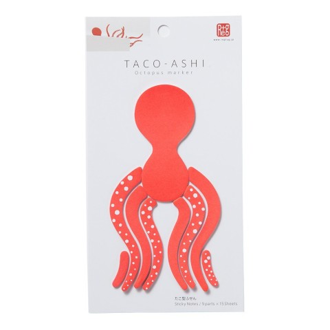 Taco-Ashi Octopus Sticky Notes