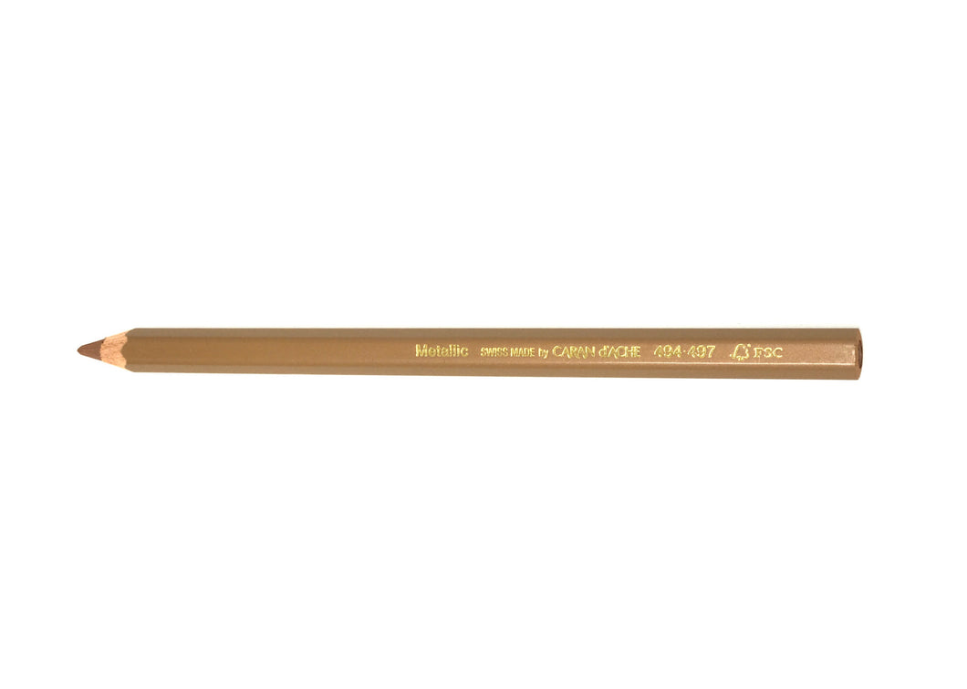 Metallic Bronze Pencil