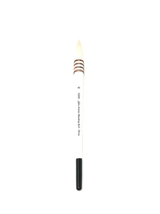 Blending Quill Size 40 - Oil, Acrylic, and Watercolor Brush Series 5325S