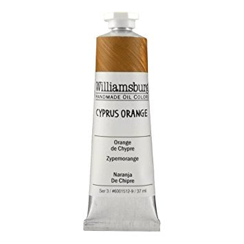 Cyprus Orange 37ml - Williamsburg Paint