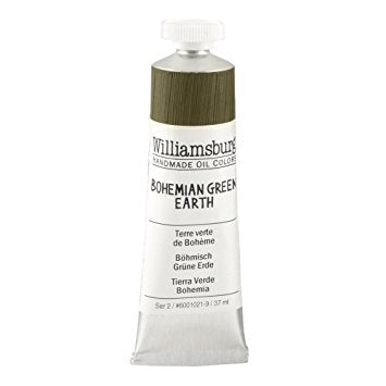 Bohemian Green Earth - Williamsburg Paint
