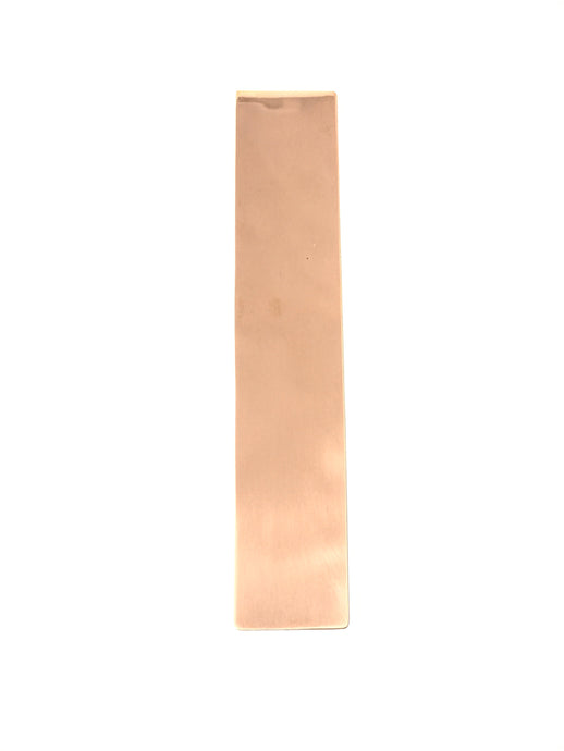 Straight Angle Bookmark, Copper