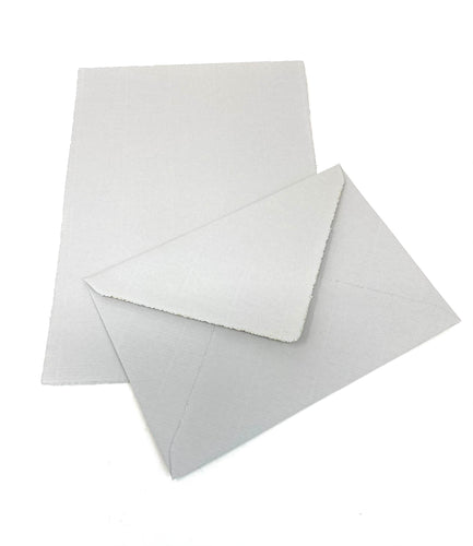 A5 Notecard Box Set of 25 - Gray
