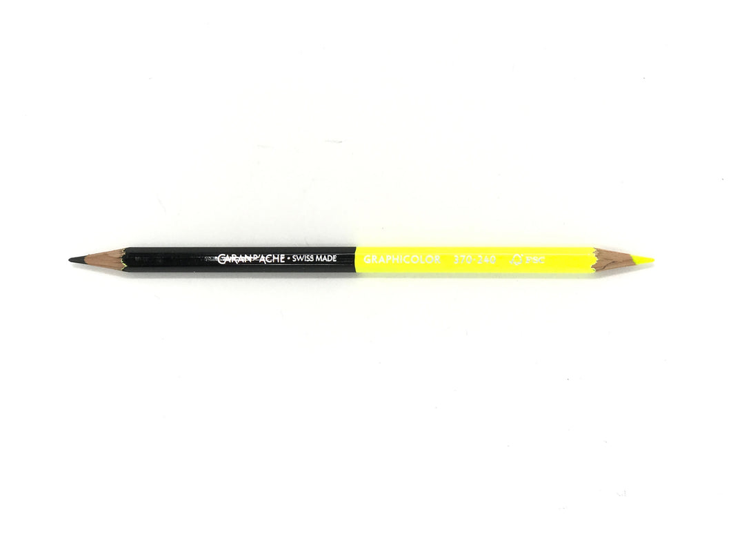 Bicolor Yellow/Graphite Pencil