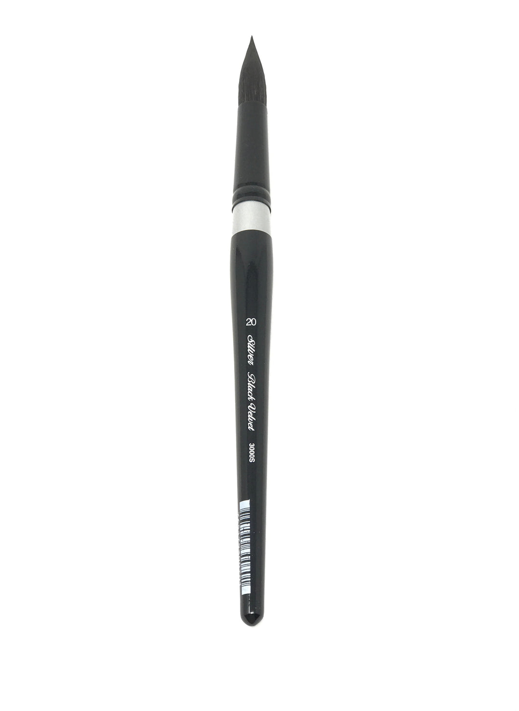 Black Velvet Size 20 Round - Watercolor Brushes S3000S