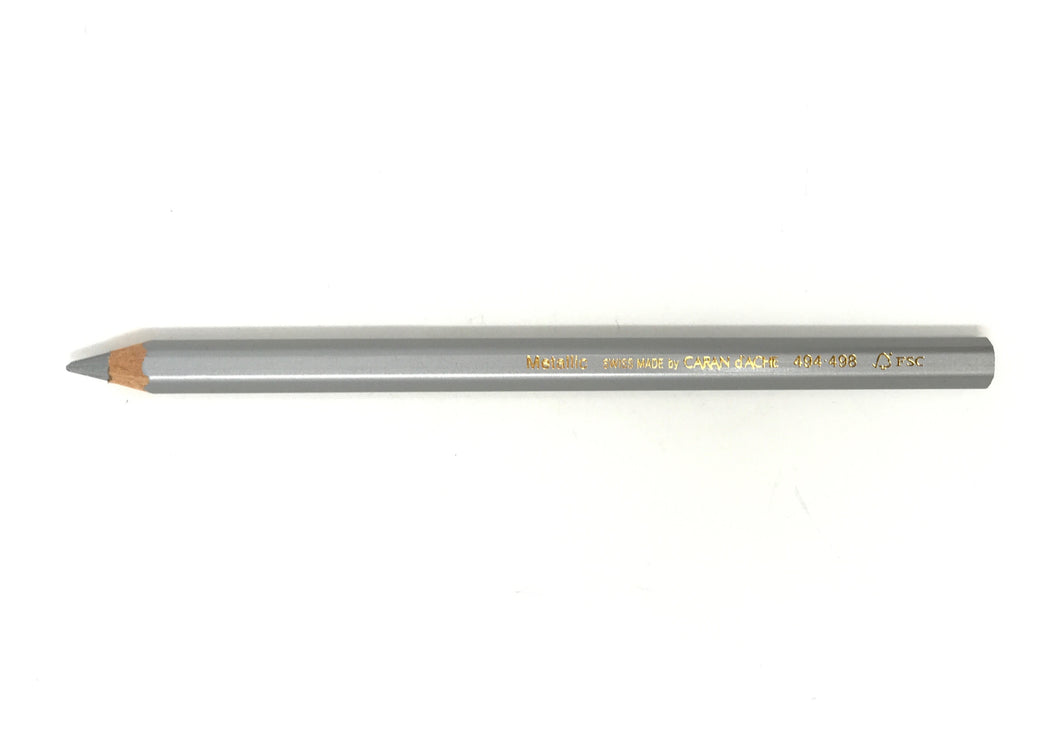 Metallic Silver Pencil