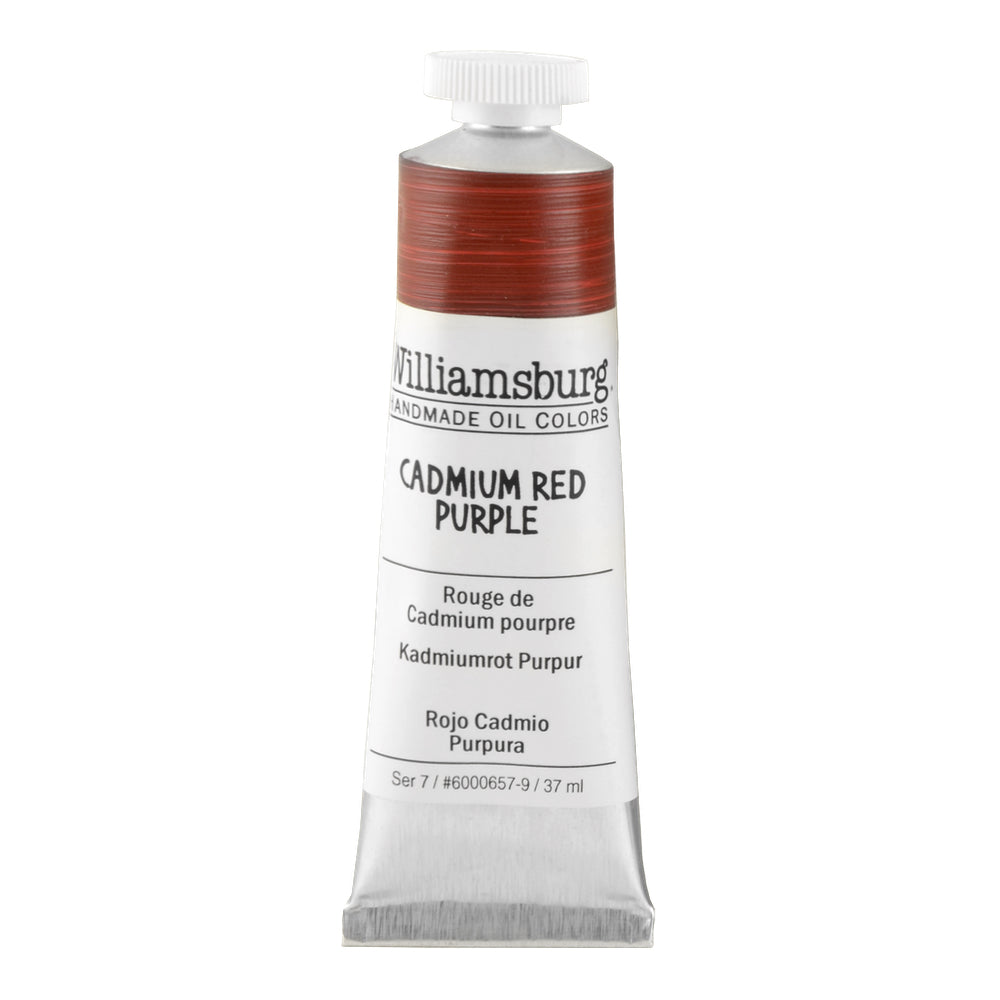 Cadmium Red Purple 37ml - Williamsburg Paint