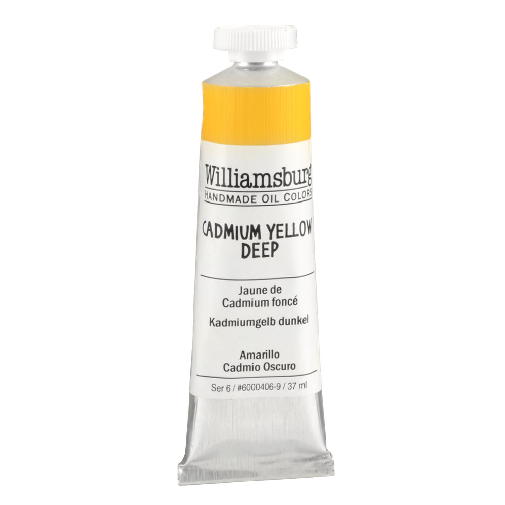 Cadmium Yellow Deep 150ml - Williamsburg Paint