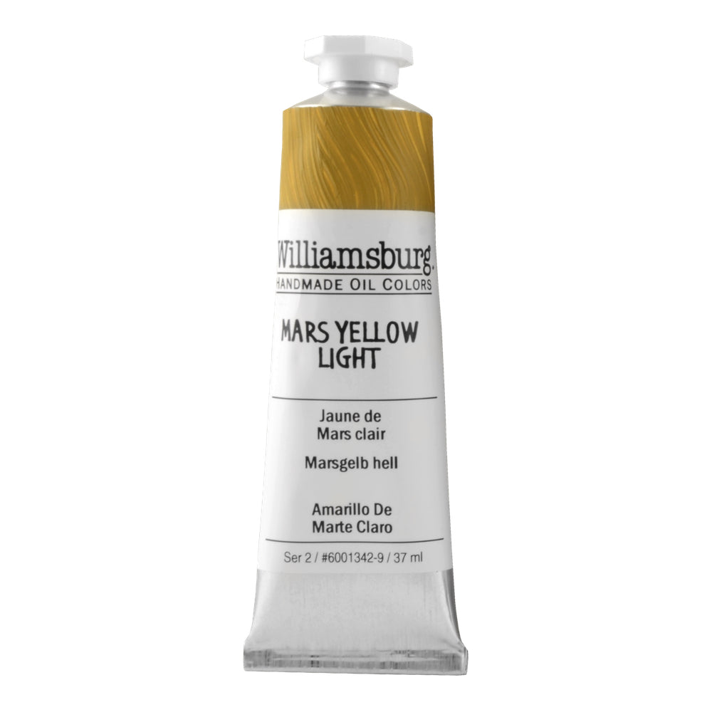 Mars Yellow Light 37ml - Williamsburg Paint