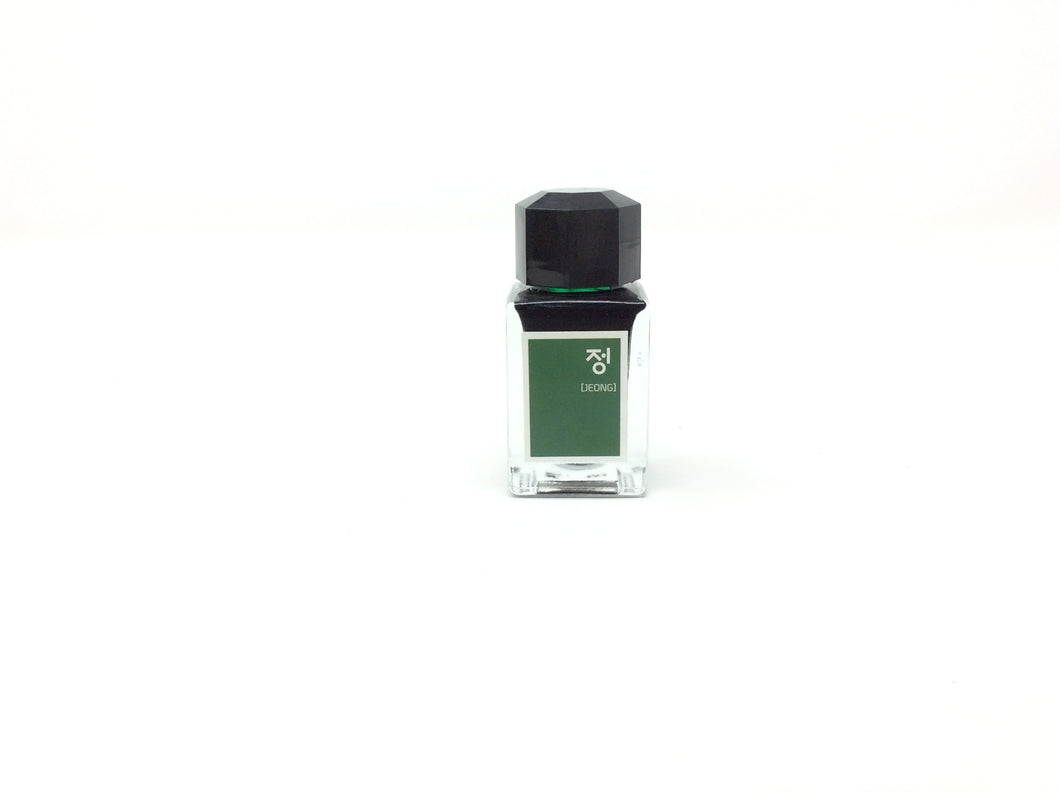 Hunminjeongeum Ink Jeon - Emerald Green