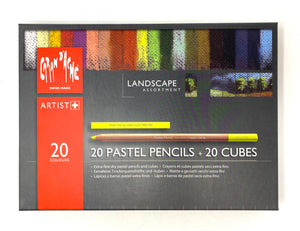 Pastel Pencils and Cubes