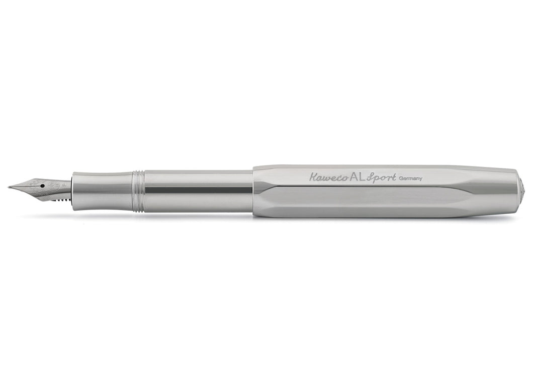 Raw Aluminum Sport Fountain Pen