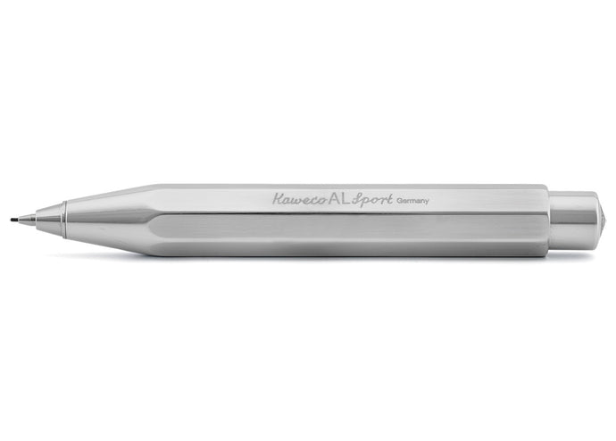 Classic Sport Mechanical Pencil, Raw Aluminum