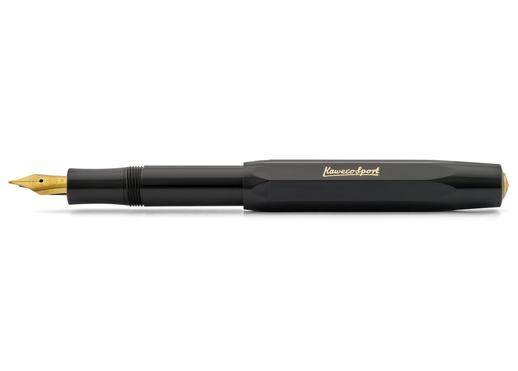 Classic Sport Fountain Pen, Black
