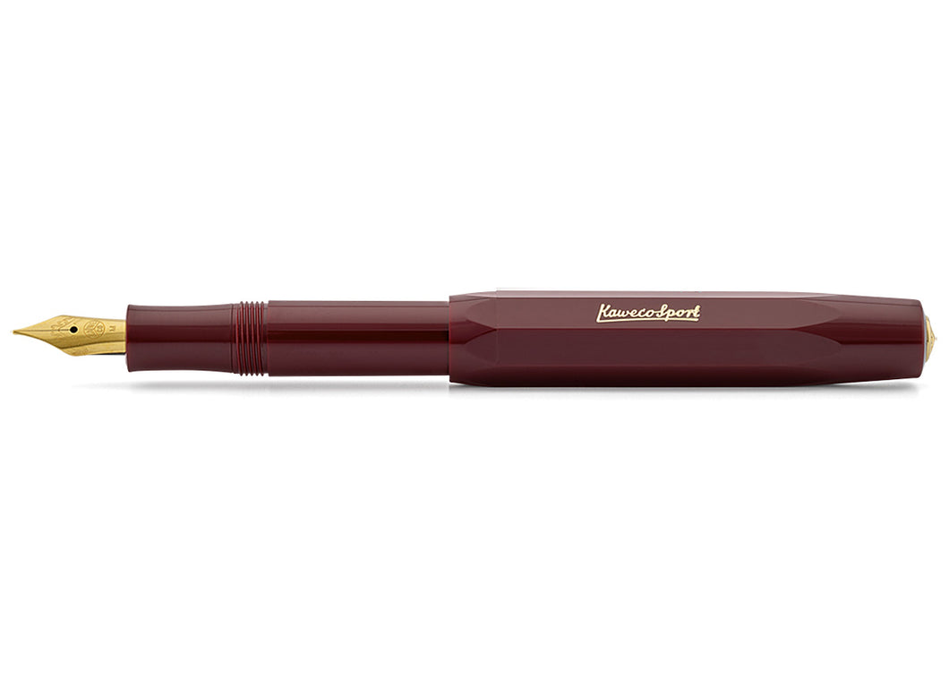 Classic Sport Fountain Pen, Bordeaux
