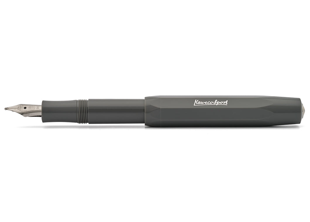 Classic Sport Fountain Pen, Grey